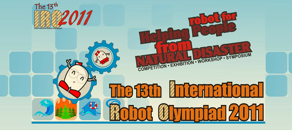 International Robot Olympiad 2011    Those Who Triumphed on International Competition