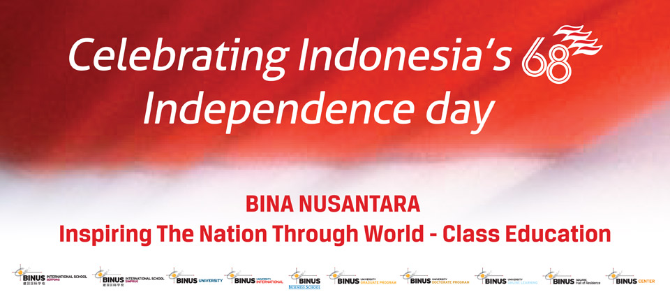 Celebrating Indonesia's 68th Independence day