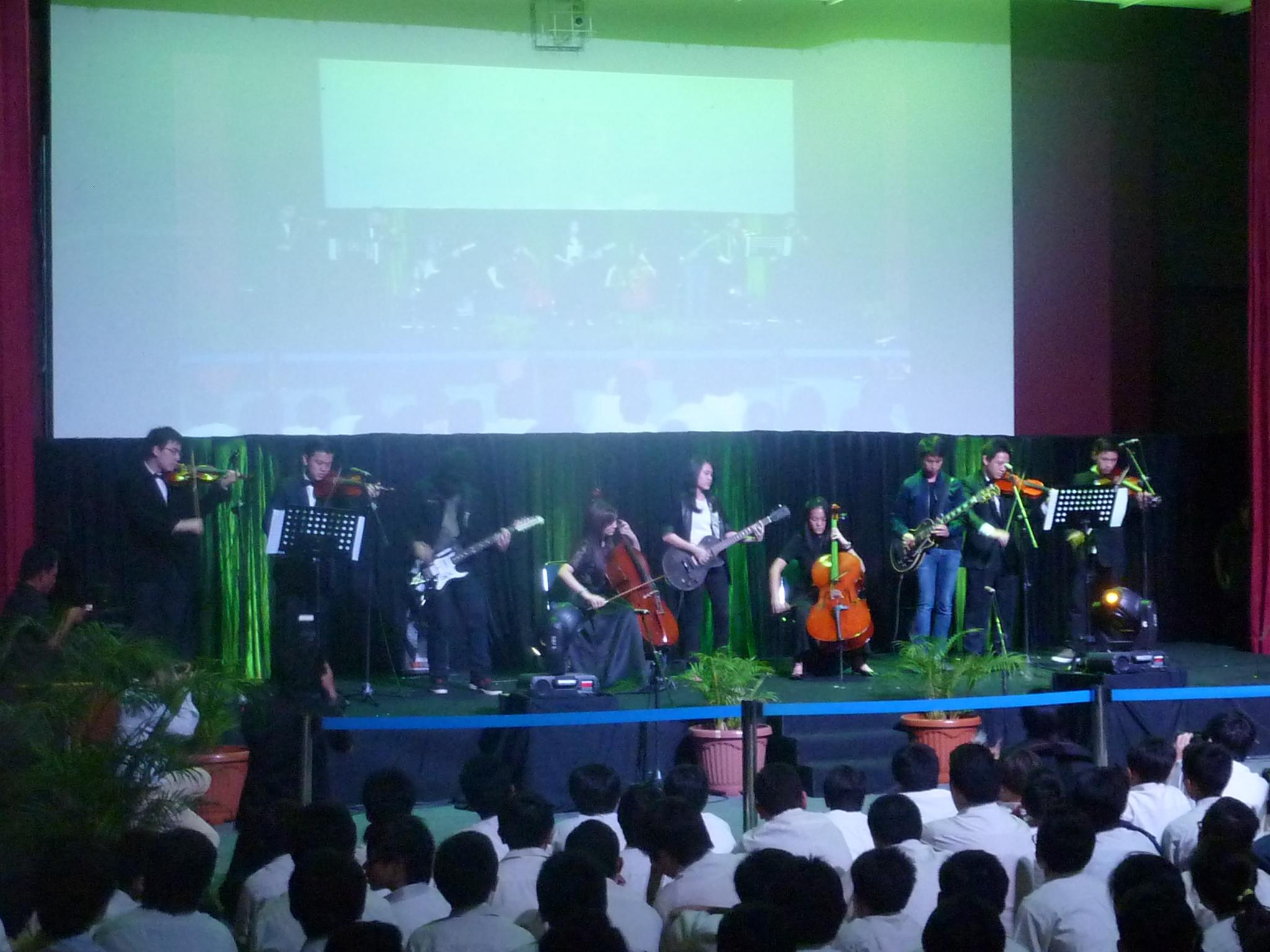 """""""A Symphony for The Future"""" School Concert 2014"""