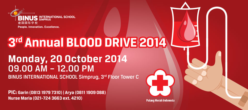 3rd Annual Blood Drive