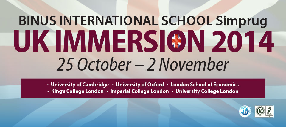 UK Immersion 2014