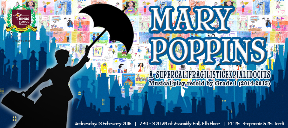 Mary Poppins Musical Play