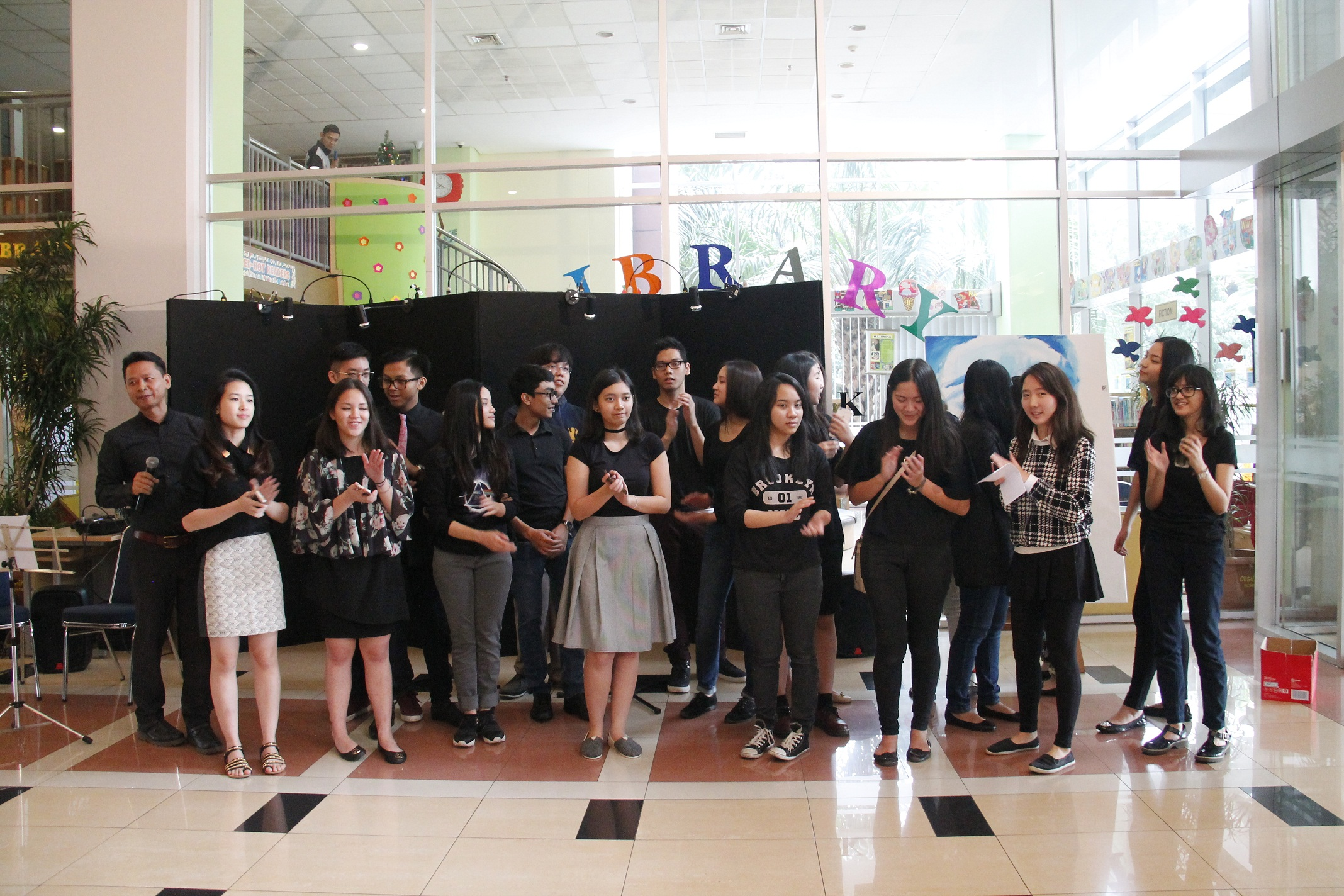 MOSAIC, BINUS SCHOOL SIMPRUG'S APPRECIATION TO ART