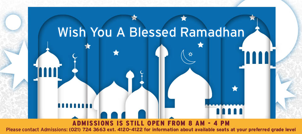 Wish You A Blessed Ramadhan