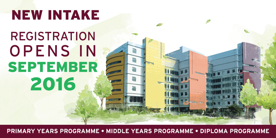NEW INTAKE OPENS IN SEPT 2016