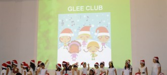 Glee Club from Grade 5 Students Celebrate Christmas 2015