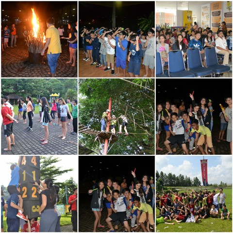 Camp Night Out Grade 6 Students