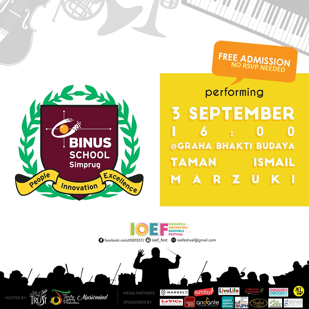 Next Performance : Indonesia Orchestra and Ensemble Festival