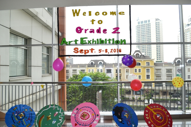 Grade 2 - Art Exhibition
