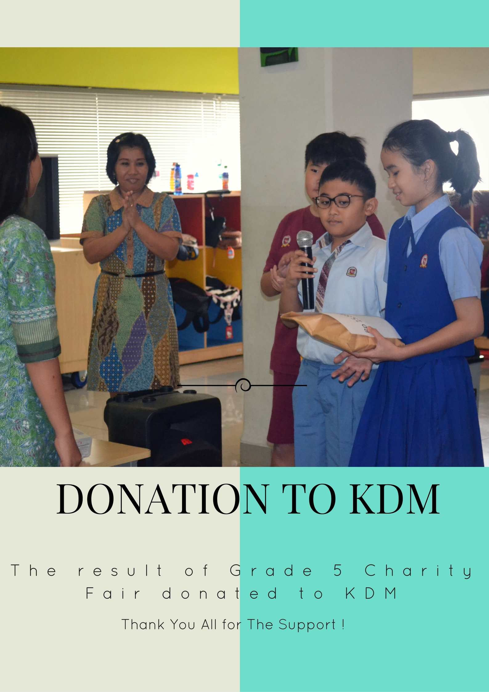 Donation to KDM