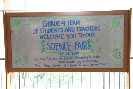 Grade 4 BINUS SCHOOL Simprug - Science Fair