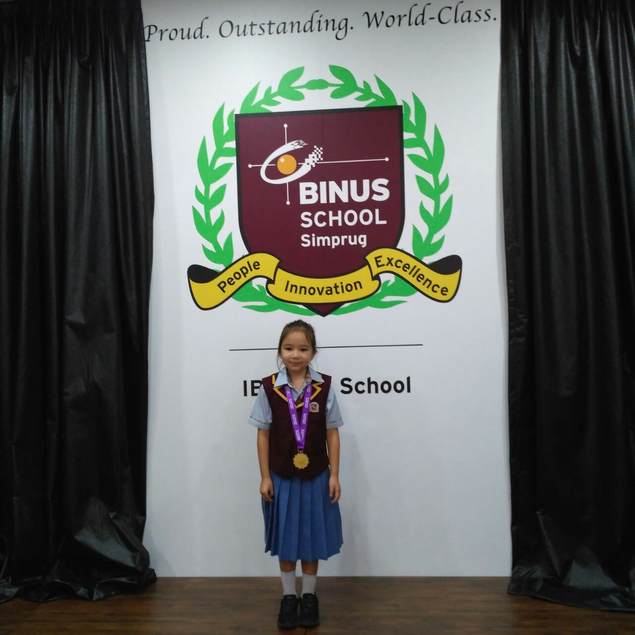BINUSIAN ANNABELLE TAKES HOME GOLD MEDAL