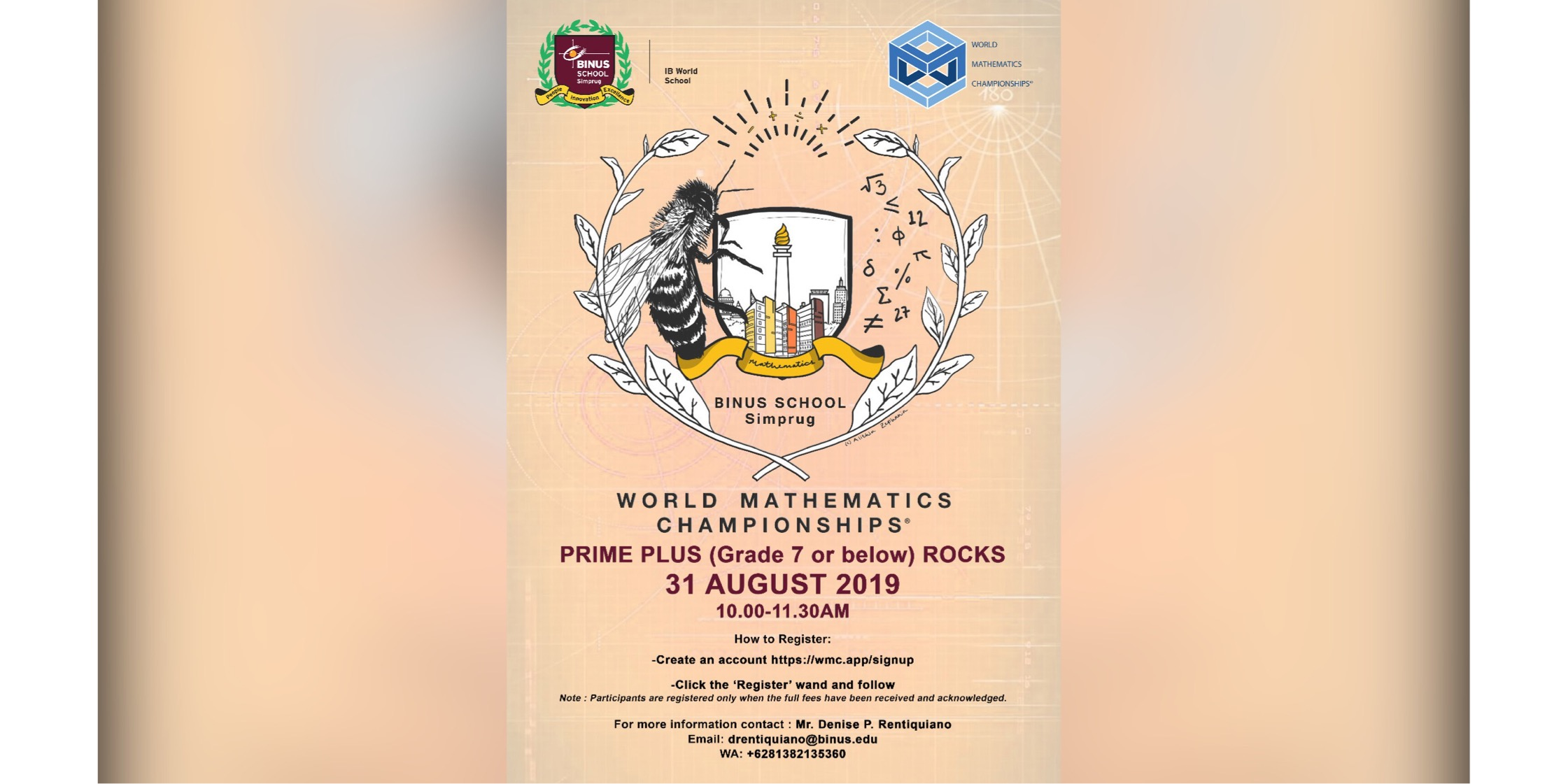 World Mathematics Championships 2019