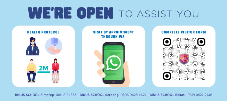 We're OPEN to Assist You!