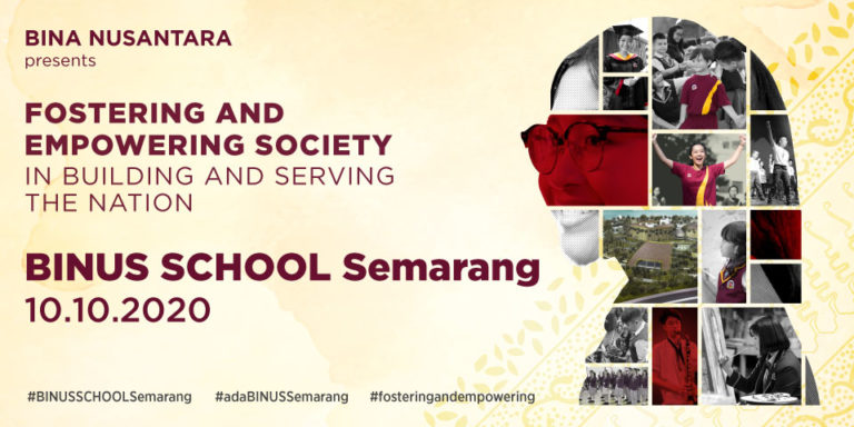 Ground Breaking BINUS SCHOOL Semarang