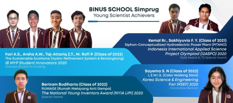 BINUS SCHOOL Simprug Young Scientist Achievers